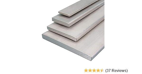 gezogen Aluminium Flachmaterial Oberfl/äche blank L/änge 1000 mm Abmessungen 100 x 8 mm
