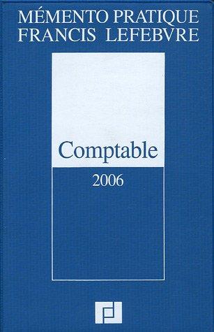 Comptable : Edition 2006