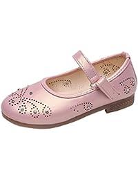 low priced 1104c 79575 ADESHOP Enfant Chaussures Mode Infant Bébé Filles l amour Chaussures en  Cuir Mignon Fille Antidérapant