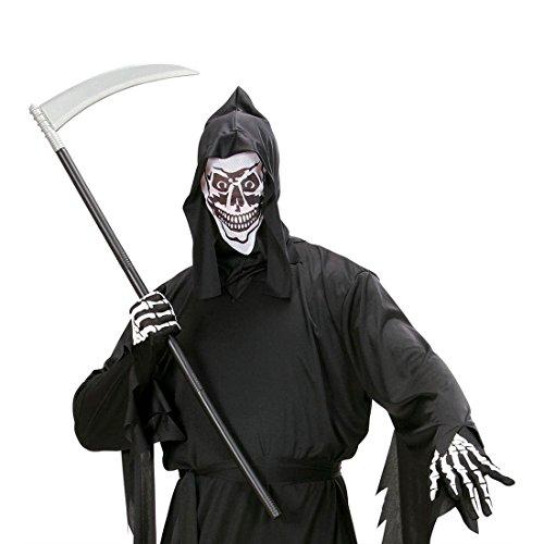 Zerlegbare Sichel Zombie Sense Sensenmann Sichelmesser Tod Waffe Halloween Messer Grusel Kostüm Zubehör (Sichel Kostüme Sensenmann)