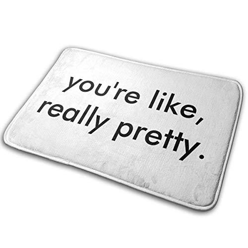 Fußmatte mit Aufschrift