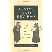 Essays and Reviews: The 1860 Text and Its Reading (Victorian Literature & Culture)