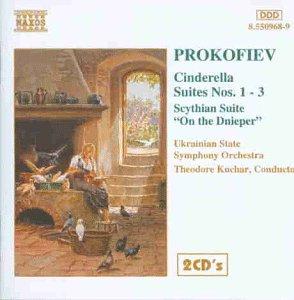 Prokofieff Aschenputtel Suiten 1-3 (Prokofiev Symphony 2)
