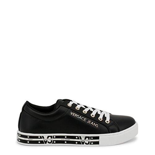 925e88e0c54 Versace Jeans E0VRBSG5 Sneakers Femme Black 38