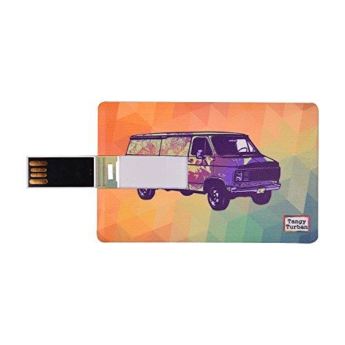 Tangy Turban Digitally Printed Credit Card Shape Usb Flash Drive Pendrive 16...