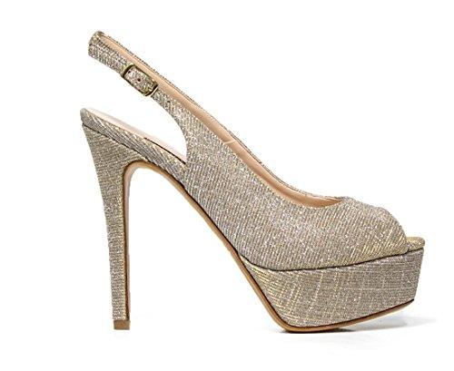 Sandalo Elegante Albano con tacco alto 4216 NIGHT BEIGE