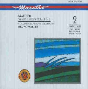 Mahler - Symphonies Nos 1 & 2