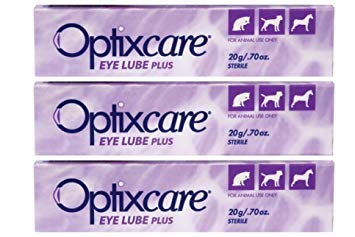 OptixCare 20g Lube Eye Plus + hialurónico Caballos