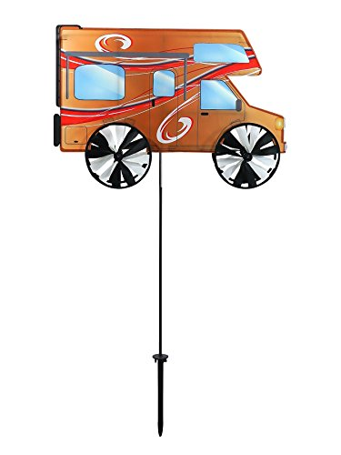 Breeze In The 24 Zoll Wohnmobil-Spinner - Camping Windspiel für Ihren Hof und Garten - Rv Spinner