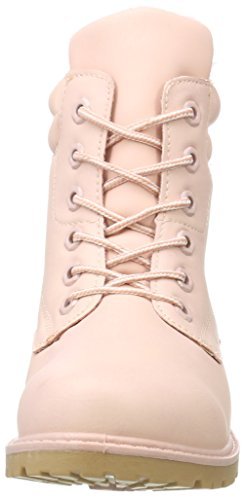 Hailys Lu Tyra, Scarpe Stringate Brouge Donna Rosa Rosa (Rose)