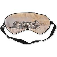 Augenmaske mit Zebra-Motiv, für Reisen, Nickerchen, Meditation, 2 Stück preisvergleich bei billige-tabletten.eu