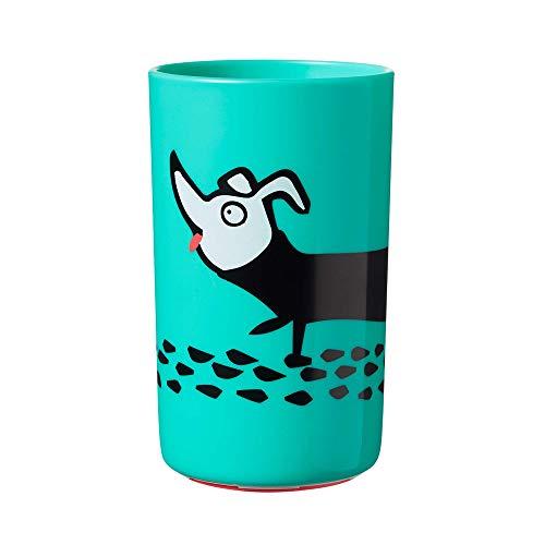 Tommee Tippee Super-Cup Anti-Klecker Becher 300ml, ab dem 12. Monat, Junge, blau