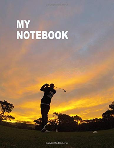 1ef23f470cf5 My Notebook. For Golf Fans. Blank Lined Journal Planner Diary.
