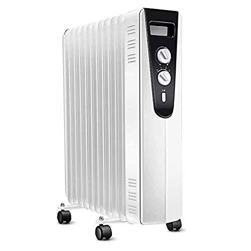 Wmdxtm oil filled radiator - impostazioni di alimentazione elettrica portatile 3, regolabile temperatura, termica di sicurezza cut off