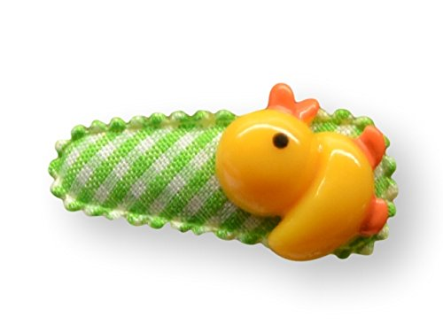 Baby Haarspange/Haarclip mit Applikation, handgefertigt, 3cm