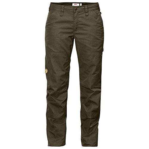 Fjällräven Damen Barents Pro Jeans W Lange Hose dark olive