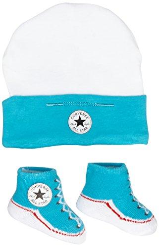 Converse Unisex - Baby Kappe, Cap/Bootie, GR. One size (Herstellergröße: One Size), Mehrfarbig (Mesange) (Patch Converse Hat)