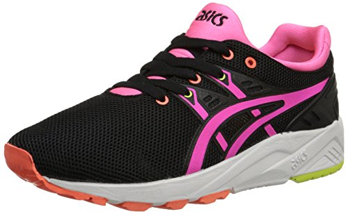 Asics Womens Gel-Kayano EVO Mesh Trainers Noir Rose