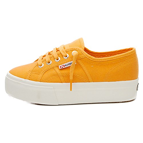 Superga 2790 Acotw Linea Up and, Sneaker Donna W98 ORANGE CLAY