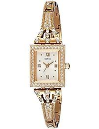 Guess Damen-Armbanduhr Analog Quarz Edelstahl W0430L3