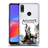 Head Case Designs Ufficiale Assassin's Creed Connor Ascia III Arte Chiave Cover Morbida in Gel per Huawei Y6 (2019)