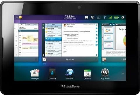 BlackBerry PlayBook 3G+ 17,8 cm (7 Zoll) Tablet-PC (1.5GHz Dual Core, 1 GB RAM, 32 GB Speicher, WLAN, UMTS 3G (HSPA+), HDMI Interface) schwarz