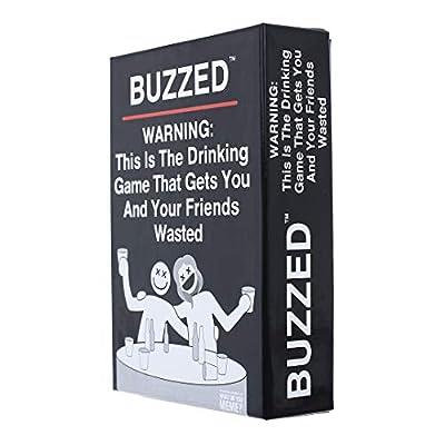 Buzzed Jeux à Boire Ivre Laissez Vous et Vos Amis Se saouler