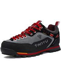 Scarpe da Trekking Uomo Respirabile Sportive Escursionismo Scarpe da Montagna  Sneakers Passeggiata 827b74bbb89
