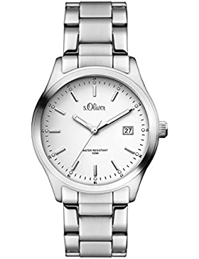 s.Oliver Unisex-Armbanduhr Analog Quarz Edelstahl SO-3194-MQ