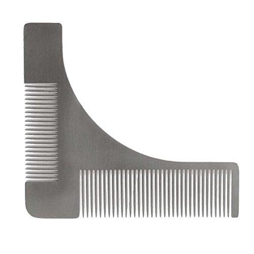 lumanuby Kamm Bart Modeling für haircutters Barber und Körper Rasierer, einfach Vorlage, und neues Design von hoher Qualität