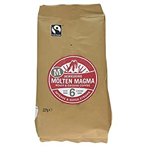 Morrisons Molten Magma Roast and Ground Coffee, 227g