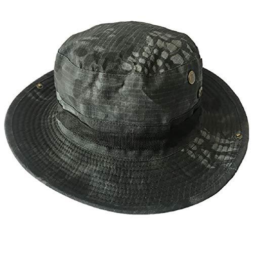 Vaycally Camouflage Hat Boonie Fisherman Abgerundeter Sonnenschutzhut Outdoor Climbing Jungle Men Women Tactics Cap Camouflage Womens Hut