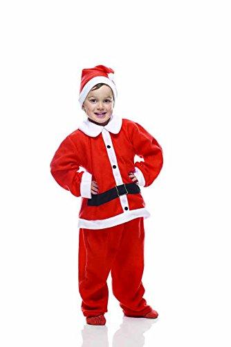 Rubie's IT00010 - Babbo Natale Bambino Costume, Taglia Unica