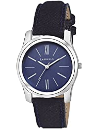 Laurels Blue Color Analog Women's Watch With Strap: LWW-ORC-030307
