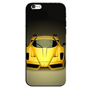 YELLOW CAR BACK COVER FOR APPLE IPHONE 6
