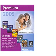 Microsoft Premium 2005 Pack (Incl. Auto Route 2005, Money, Encarta 2005 Standard Edition, Photo Premium 10, Zoo Tycoon Complete Collection) (PC)
