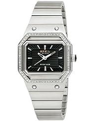 Breil Milano Palco BW0443 - Reloj de mujer de cuarzo, correa de acero inoxidable color plata