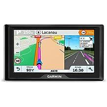 """Garmin Drive 61 Full EU LMT-S - Navegador GPS con mapas de por Vida y tráfico vía móvil (Pantalla de 6"""", Mapa Europa Completo) (Reacondicionado Certificado)"""