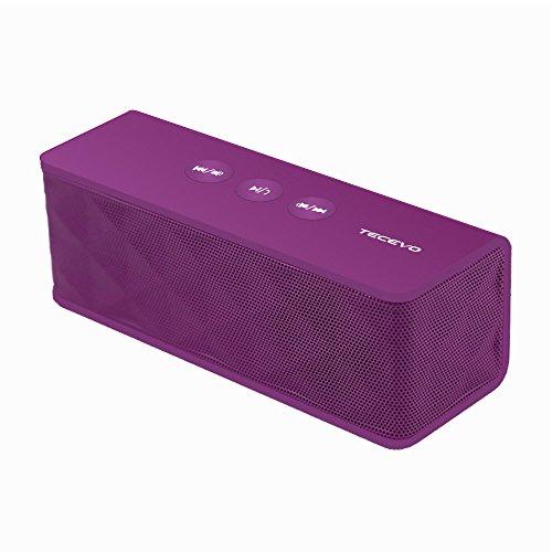 TECEVO T4NFC Bluetooth inalámbrico altavoz con enhanced bass portátil y de batería...