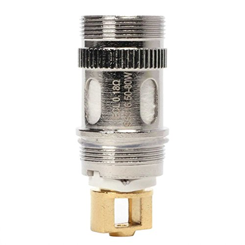 Eleaf ECL SS316 Coil (0,18 Ohm), Edelstahl, Riccardo Verdampferköpfe für e-Zigarette, 5 Stück