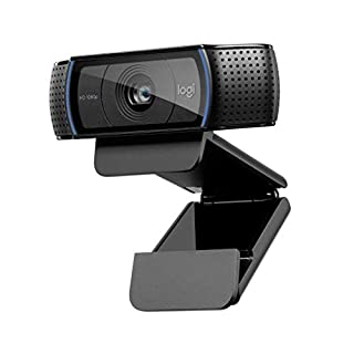 Logitech, Webcam C920 HD Pro, Appels et Enregistrements Vidéo Full HD 1080p, Gaming Stream, Deux Microphones, Petite, Agile, Réglable, Noir (B006A2Q81M) | Amazon Products