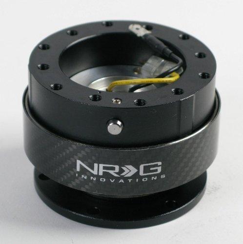 NRG Lenkrad Quick Release Kit-Generation 2.0-Echte Karbonfaser-Teil # srk-200cf
