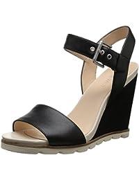 Nine West Women's Leather Fashion Sandals