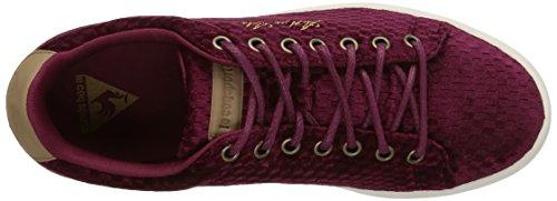 Le Coq Sportif Arthur Ashe Int, Sneakers Basses femme Bordeaux (Rubt Wine)