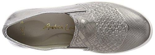 Andrea Conti Damen 1783404 Slipper Silber (altsilber)