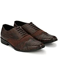 Formal Shoes For Men By Yoomenz Shoes For Office School College - Formal Shoes - Lace Up Shoes - Formal Black...