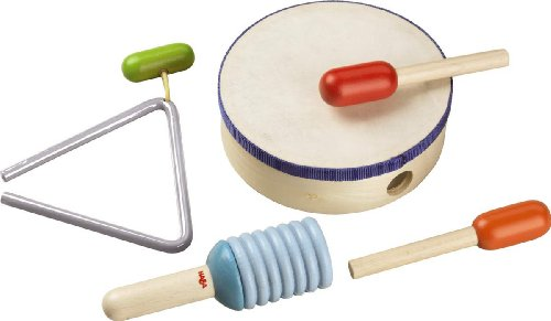 Haba 5997 - Rhythmik-Set (Toy Musical Instrument Set)