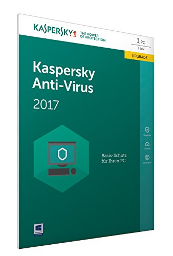 Kaspersky Anti-Virus 2017 Upgrade | 1 Gerät| 1 Jahr| PC | Download