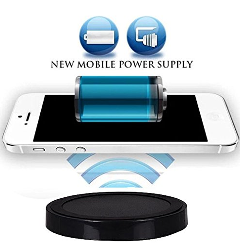 Wireless Ladegerät Induktive - Ladestation Qi Charger Galaxy Note8, Apple iPhone X, iPhone 8, iPhone 8 Plus, Samsung Galaxy S8, Galaxy S8 Plus, Galaxy S3, Galaxy S5, Galaxy S6 Edge, Samsung Galaxy S6, Samsung Galaxy S7, Samsung Galaxy S7 Edge, Samsung Galaxy Note 5, ZTE Grand S, Sony Xperia Z3, Sony Xperia Z4, LG G5, LG Google Nexus 5, Google Nexus 5, Google Nexus 6, Google Nexus 7 Google Nexus 7 HD Microsoft Lumia 735, Microsoft Lumia 950, Microsoft Lumia 950 XL, Motorola Moto 360 (Nokia 1020 32gb)