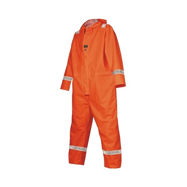 Hi-Vis Rain Suit Mongstad 70621FIRE RETARDANT Overall